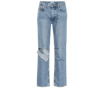 High-Rise Straight Jeans Helena