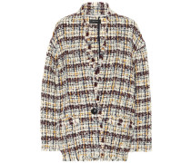 Tweed-Jacke Iliana aus Wolle