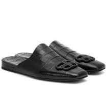 Slippers BB aus Leder