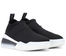 Sneakers Loop aus Stretch-Gewebe