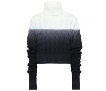 Rollkragenpullover aus Wolle