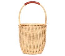 Bucket-Bag aus Weide