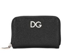 Verziertes DG Portemonnaie aus Leder