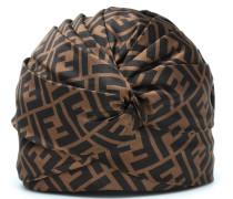 Bedruckte Mütze aus Seide