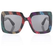 Sonnenbrille mit Glitter
