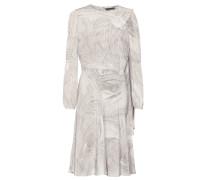 Alexander McQueen Bedrucktes Kleid aus Seide