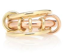 Ring Gemini aus 18kt Rosé- und Gelbgold