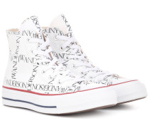 X Converse bedruckte Sneakers Chuck 70