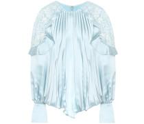 Verzierte Bluse aus Satin