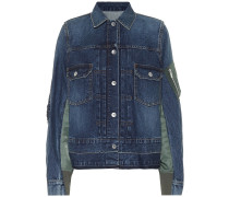 Jeansjacke aus Baumwoll-Denim