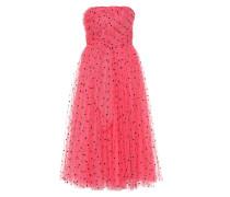 Bandeau-Kleid aus Tüll