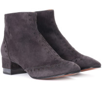 Ankle Boots Perry aus Veloursleder