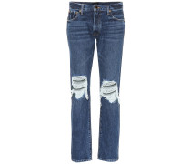 Low-Rise Distressed Jeans The Kyle