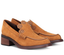 Loafers Leni aus Veloursleder