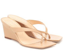 Wedge-Sandalen Theresa aus Leder