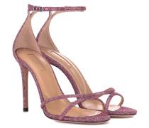 Sandalen Purist 105 aus Glitter