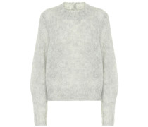 Pullover Ivah aus Mohair und Wolle