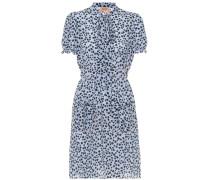 Bedrucktes Kleid Donna aus Seide