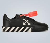 Sneakers Low Vulcanized aus Leder