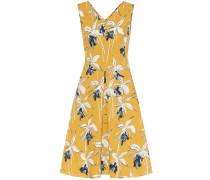 Bedrucktes Kleid Negozi aus Stretch-Baumwolle