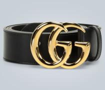 Ledergürtel GG Marmont