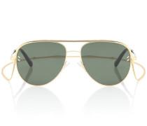 Aviator-Sonnenbrille mit Brillenband