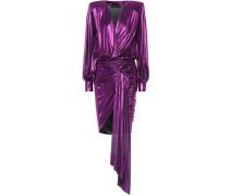 Asymmetrisches Kleid aus Lamé