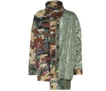 Bedruckte Jacke aus Baumwolle