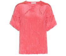 T-Shirt Mattie aus Satin