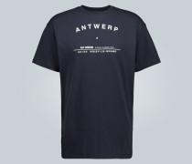 Bedrucktes T-Shirt Antwerp Tour