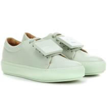Sneakers Adriana TurnUp aus Leder