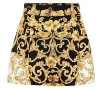 Bedruckte Shorts aus Seide