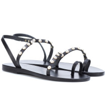 Sandalen Apli aus Leder