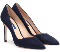 Pumps Anny aus Veloursleder