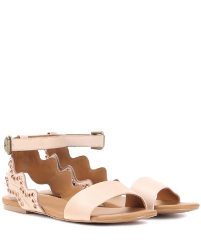 100% Garantiert Sammlungen Zum Verkauf Chloé Damen Verzierte Sandalen aus Leder Niedriger Versand Günstiger Preis Heißen Verkauf Zum Verkauf ZYXJzwNc