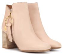 Ankle Boots Louise Medium aus Leder