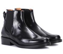 Ankle Boots Violet aus Leder