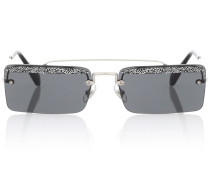Eckige Sonnenbrille Société