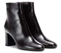 Ankle Boots Loulou 70 aus Leder