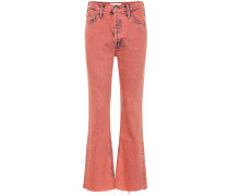 High-Rise Cropped Jeans The Tripper