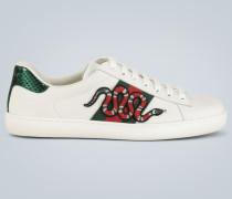 Bestickte Sneakers Ace