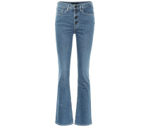 High-Rise Bootcut Jeans Poppy