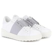 Garavani Sneakers Open aus Leder