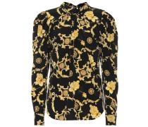 Bedruckte Bluse Mena