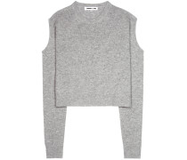 McQ Alexander McQueen Pullover aus Wolle und Cashmere mit Cut-outs