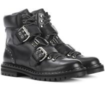 Ankle Boots Breeze Flat aus Leder