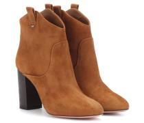 Ankle Boots Rocky aus Veloursleder