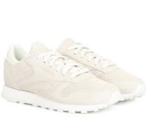 Sneakers Classic aus Nubukleder