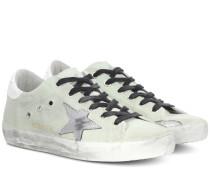 Sneakers Superstar aus Canvas