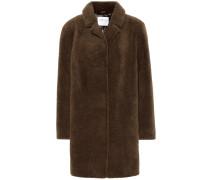 Mantel Trishelle aus Faux Fur
